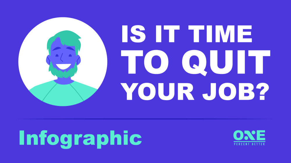 How To Know When To Quit Your Job: Reasons To Stay or Leave [INFOGRAPHIC] | how to quit a job | should i quit my job | Featured