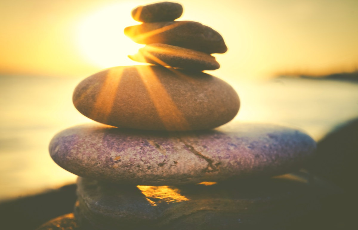 Rock balancing | How to Reinvent Yourself and Improve Your Well-being