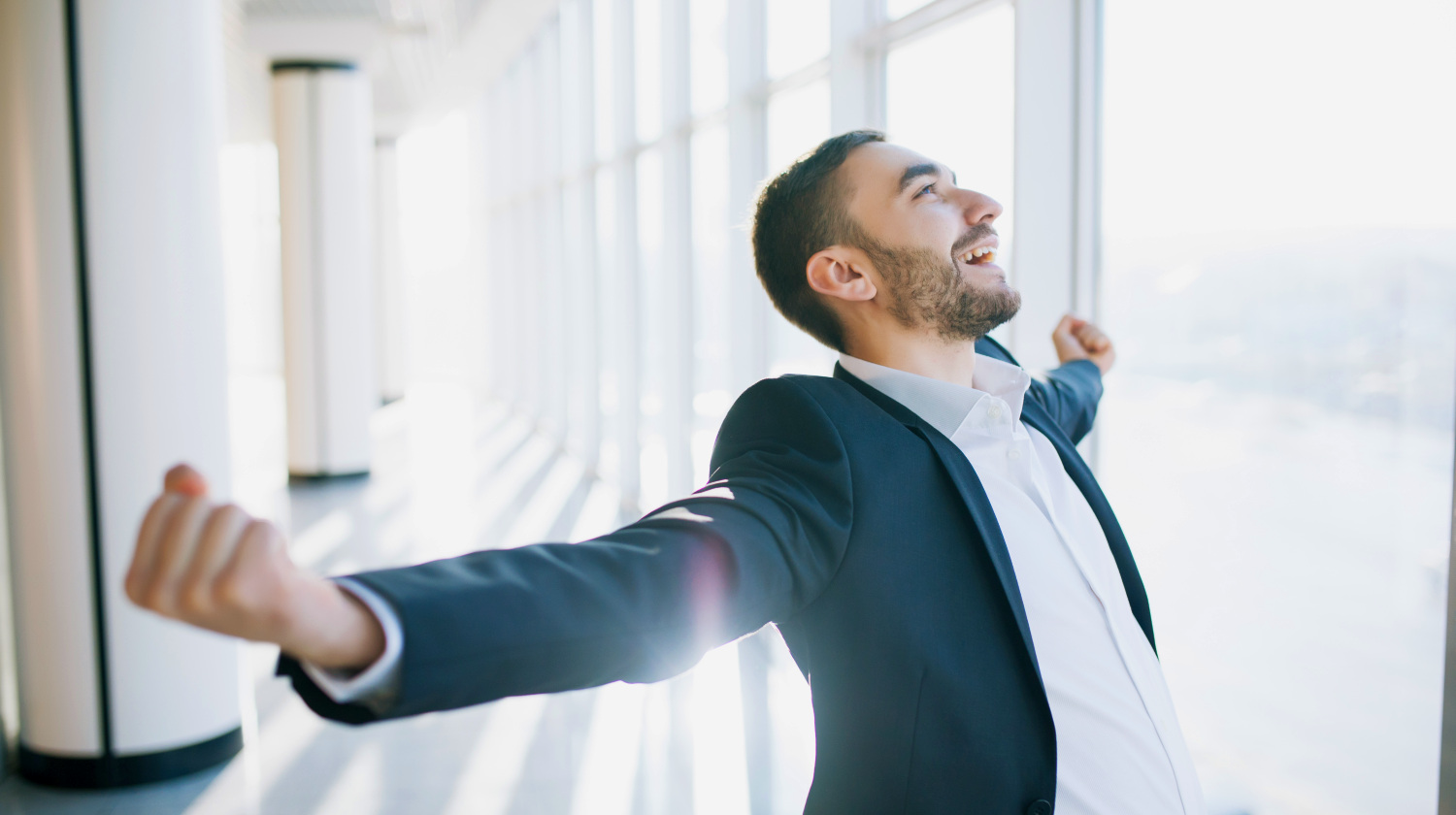 Featured | Incredible joy of businessman | How To Improve Yourself Every Day
