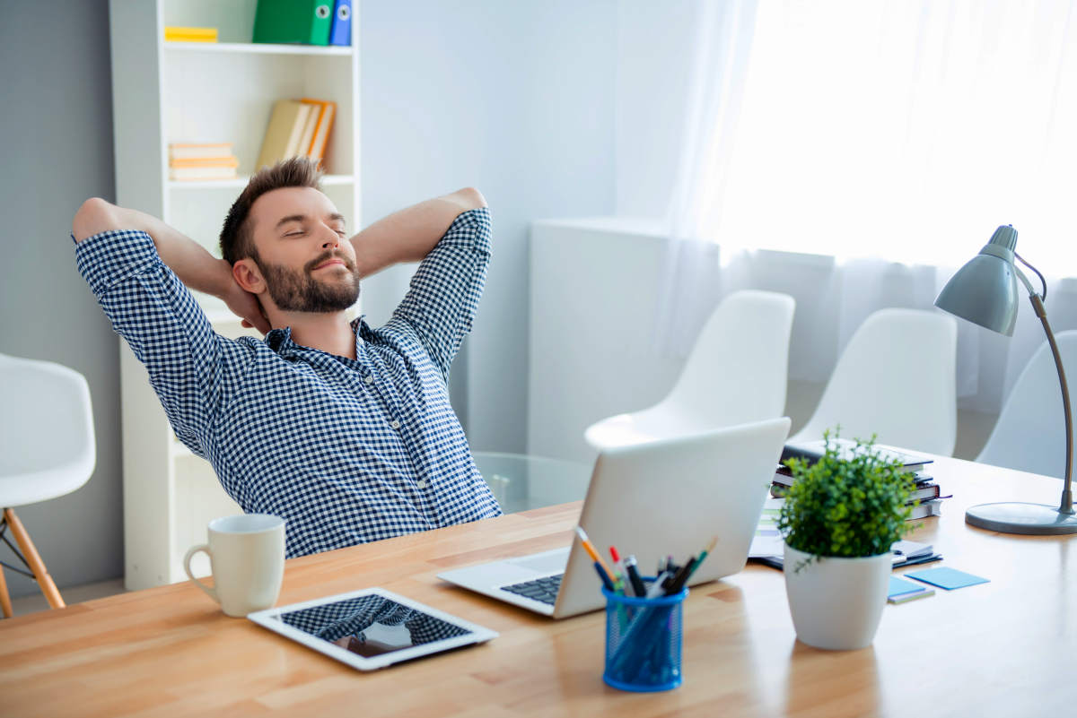 Young worker having break and resting after solving task   Why Do People Procrastinate And How Do You Beat It?   overcoming procrastination