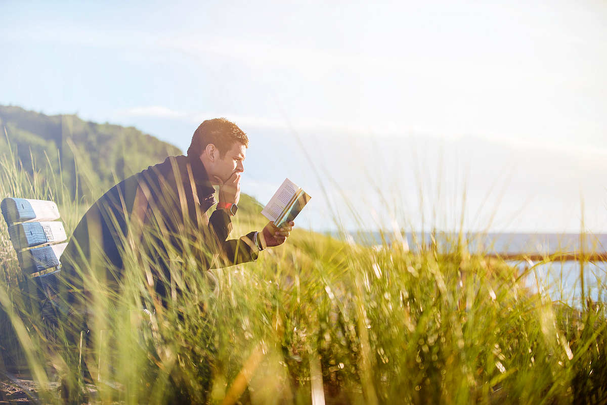 Man reading book | How To Find Out Who Your Friends Are | The Friend Test | Find out who your friends are | family members