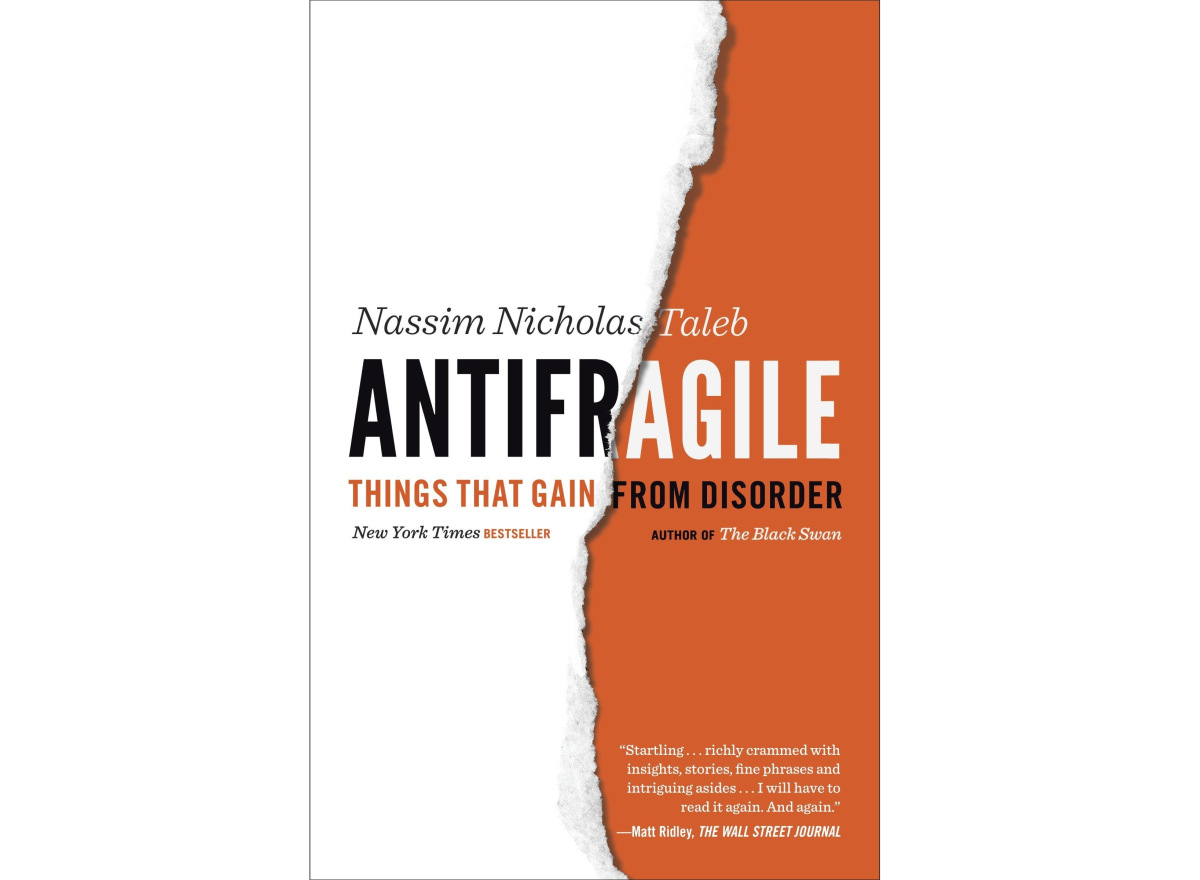 Antifragile: Things that Gain from Disorder | Inspirational Books You Should Start Reading NOW | law of attraction