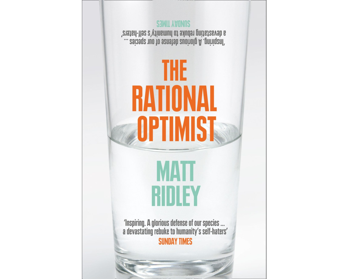 The Rational Optimist | Inspirational Books You Should Start Reading NOW | best self help books