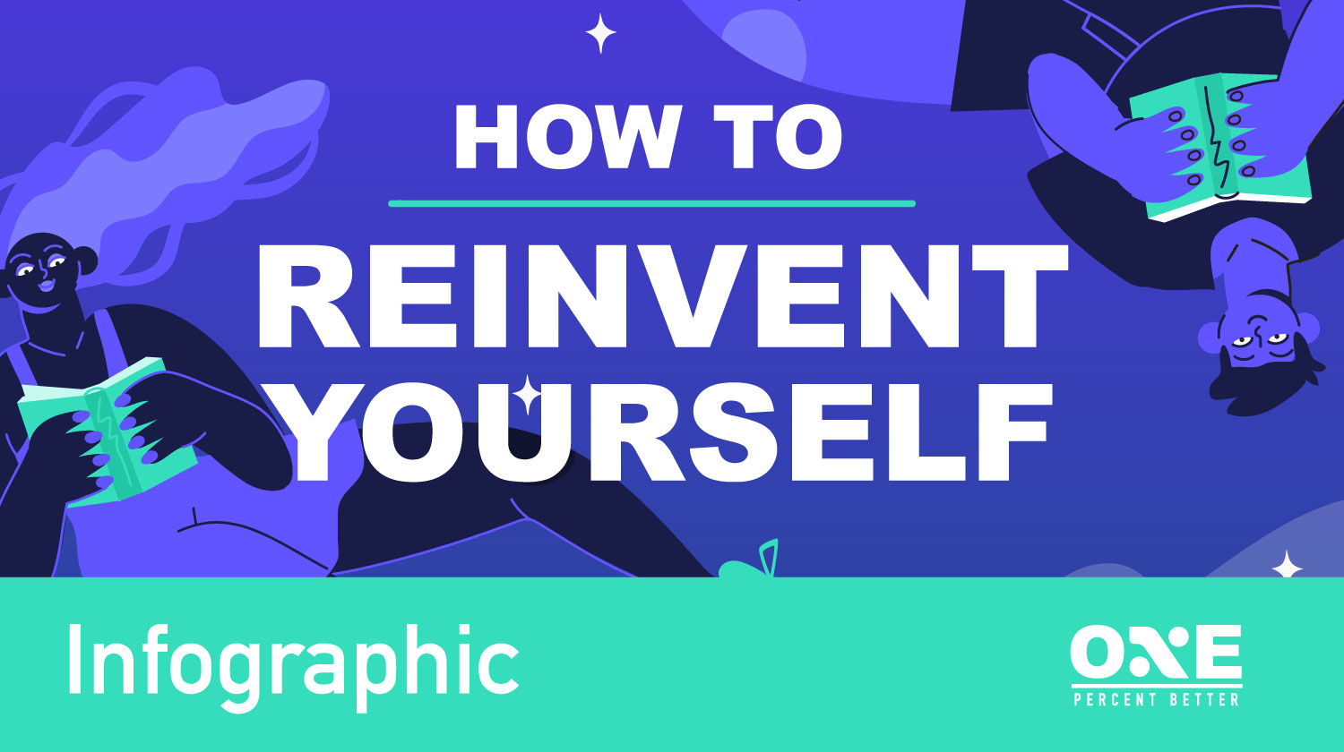 How to Reinvent Yourself and Improve Your Well-Being [INFOGRAPHIC]