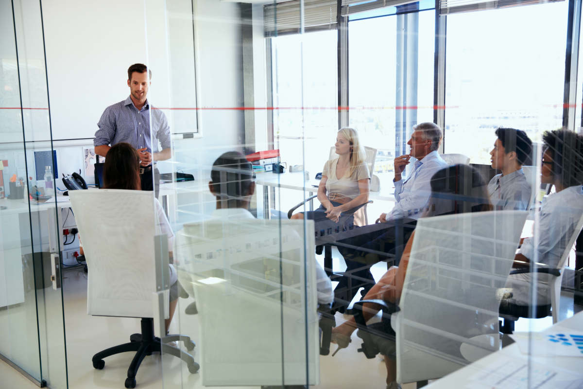 Business meeting in a modern office | Life Skills To Master Before 40 | what to do in life