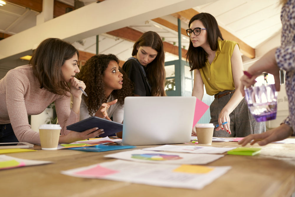 Female Designers on a Brainstorming Meeting In Office | Powerful Quotes By The Nation's Most Powerful People | powerful women quotes