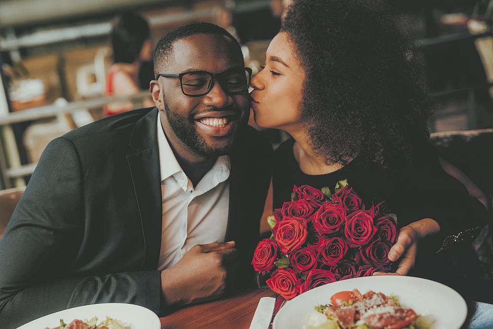 African American Couple Dating in Restaurant | How To Improve Your Marriage In Simple Ways | how to improve your marriage without talking about it