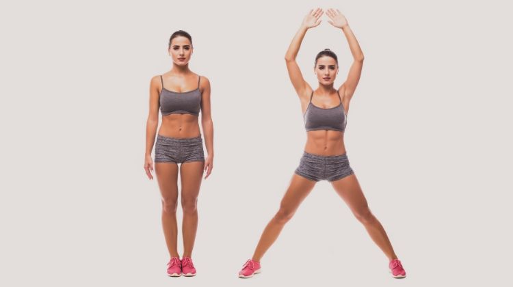 Jumping Jacks | 6 At-Home Workouts To Be Stronger and Happier | Wellness