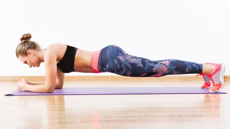 Planks | 6 At-Home Workouts To Be Stronger and Happier | Wellness
