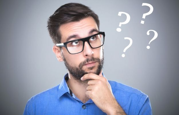 man asking himself questions | a man relaxing on the couch | Ask yourself questions