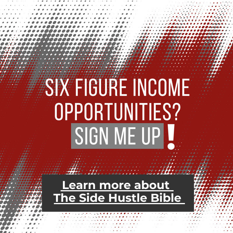 Six Figure Income Opportunities? SIGN ME UP!