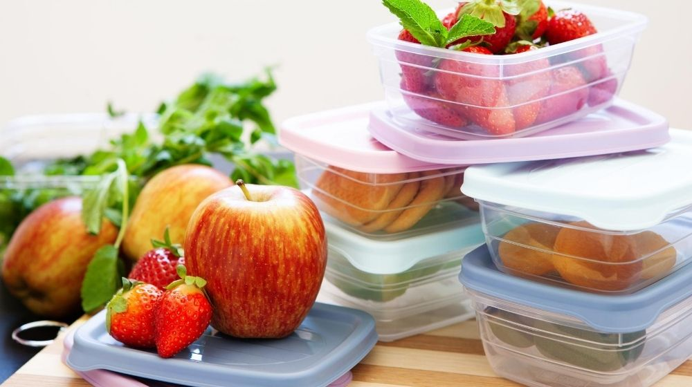 Filled plastic containers to save food - featured photo | Feature | How to Waste Less Food