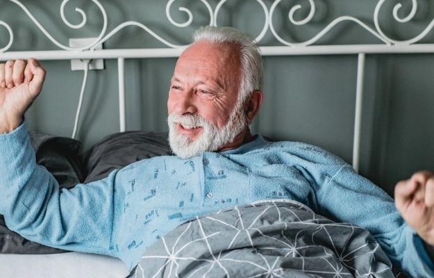 an old man just waken up in the morning | Wake Me Up | 6 Tips to Become A Real Altruist