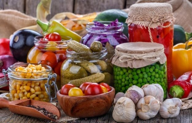 various types of vegetable in jars | Learn Canning | How to Waste Less Food