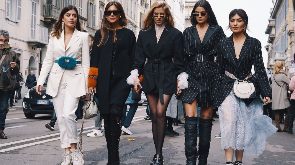Fashionable models, bloggers and influencers posing and walking on the street | Feature | How to Dress for Success in Any Situation