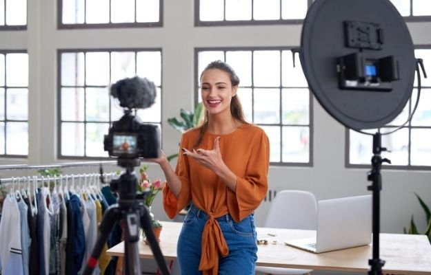 Social influencer creating online content for her channel | Influencers | Brand Building 101: How To Build A Better Brand