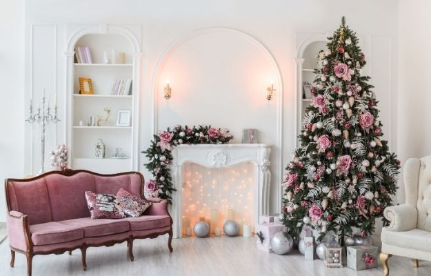 Christmas tree decoration in pink theme - ss | 7 Christmas Tree Decoration Ideas | Fabulous Pink