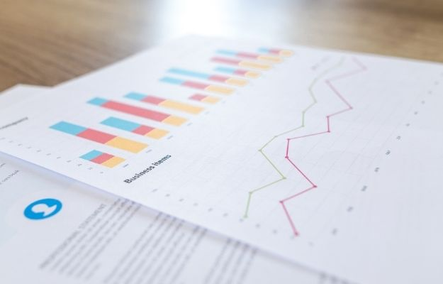 Documents with colored charts and numbers - what's a one page business plan - CA | One Page Business Plan Ideas | What Is a One Page Business Plan?