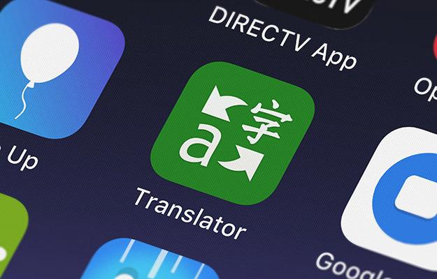 Microsoft translator app on phone screen | Microsoft Translator | 5 Translation Tools to Help You Out